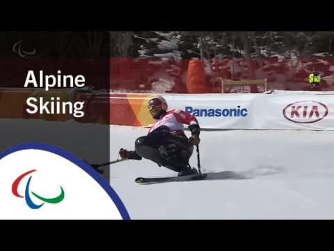Akira KANO | Super Combined | Super G | Alpine Skiing | PyeongChang2018 Paralympic Winter Games
