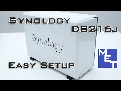 Synology DS216j Unboxing & Setup (feat  Seagate IronWolf 4TB)