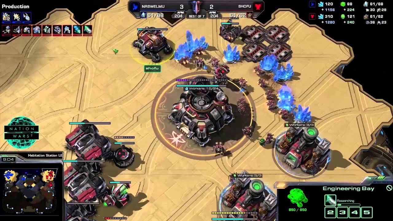 Mexico vs. Finland - Game 6 - StarCraft 2