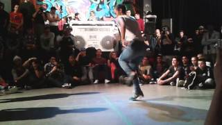 Narcis, Zuzka vs Jilou and Frost - Battle of the Year 2014 - Bgirl battle
