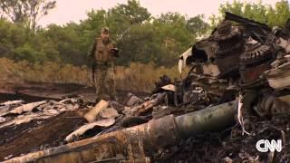 Inside the MH17 crash site