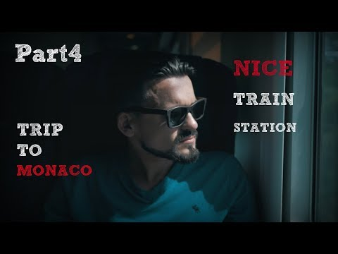 Trip to Monaco. In Monaco by train from Nice. Part 4
