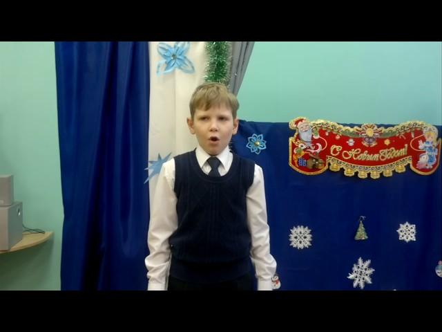 Изображение предпросмотра прочтения – АртёмШевченко читает отрывок изпроизведения «Крестьянские дети» Н.А.Некрасова