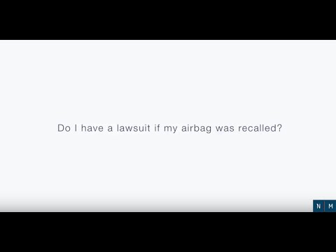 Do I Have a Lawsuit if my Airbag was Recalled?