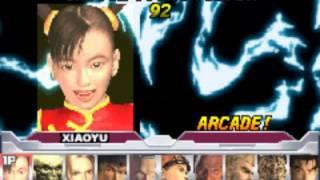 Tekken Advance GBA All Character Select