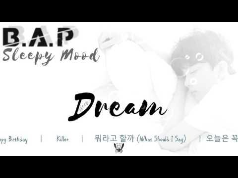 Sweet dreams with B.A.P ♪ [~sleepy mood~]