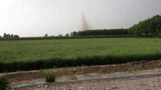 Tornado in Formazione a Castelfranco Emilia Modena