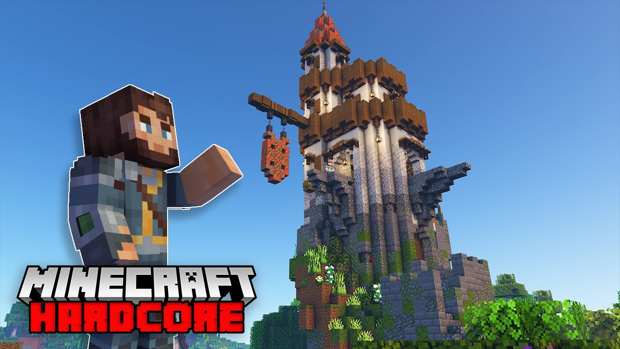 Minecraft Hardcore Survival 1.17 : The Enchanting & Brewing Tower