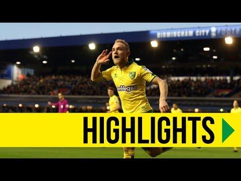 HIGHLIGHTS: Birmingham City 0-2 Norwich City