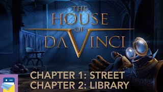 The House of Da Vinci: Chapters 1 Street & 2 Library Walkthrough & Gameplay (by Blue Brain Games)