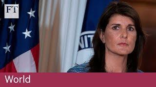 US abandons UN rights commission
