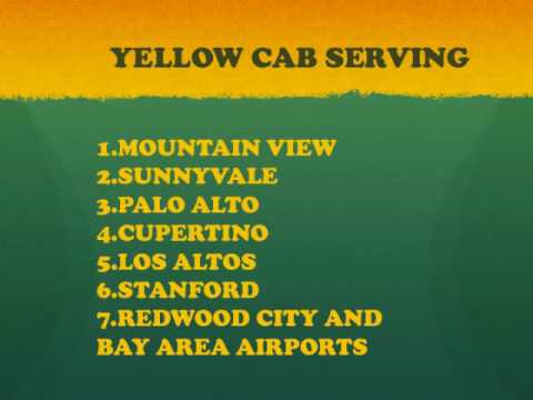 Yellow Cab Taxi Town Car Service