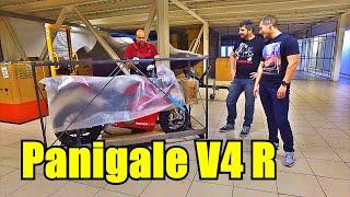 Ducati panigale V4R. Розпакування мотоцикла за 4 МІЛЬЙОНИ рублів