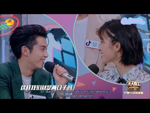 [INDOSUB] 180807 Day Day Up with Shen Yue and F4 - PART 1