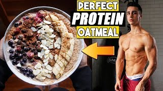 EASY HIGH PROTEIN OATMEAL RECIPE  PERFECT EVERY TIME