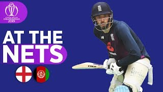 ENG V AFG - At The Nets   ICC Cricket World Cup 2019