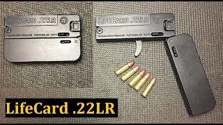 LifeCard 22 LR Pistol Worlds Thinnest Gun
