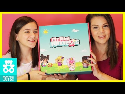 My Mini Mixie Q's (NEW) Series1 Mystery Packs, Mini Room & Park Playset Toy Unboxing  |  KITTIESMAMA