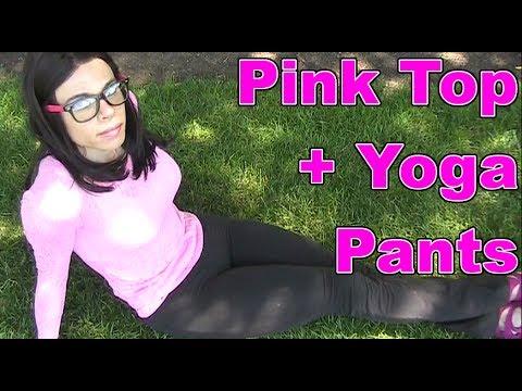 YOGA PANTS TRANS GENDER GAY