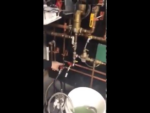Part 1 - Bosch Greenstar Condensing Boiler Cleaning Flat Plate Heat ...