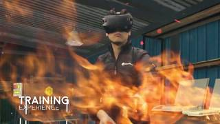 VR FIREX - Virtual trainer  in operations with Fire Extinguisher