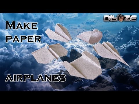 5 Easy paper planes
