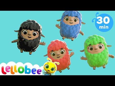 Baa Baa Black Sheep Song | + More Nursery Rhyme & Kids Song - ABCs and 123s | Little Baby Bum
