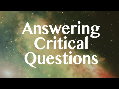 Answer Critical Questions Part 2