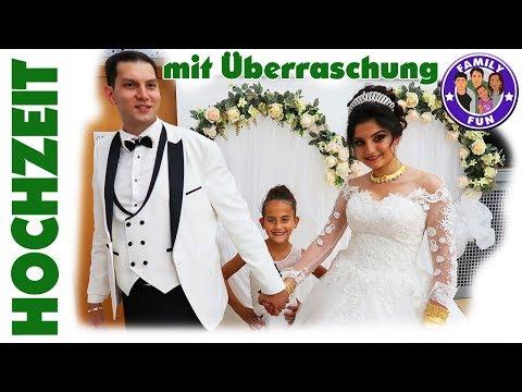 TÜRKISCHE HOCHZEIT DÜGÜN mit GEBURTSTAGSÜBERRASCHUNG - MEGA FEIER bei Family Fun