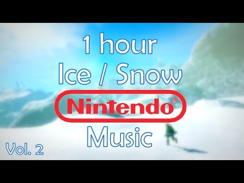 1 Hour of Ice / Snow / Winter Themed Nintendo Video Game Music Mix (2)