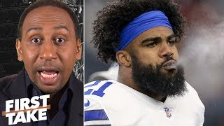 'Pump the brakes' on Cowboys winning NFC East - Stephen A. | First Take