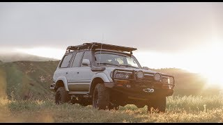 1995 Toyota FZJ80 TLC4x4 Restoration for Joe Rogan. Now it is an LSA80!