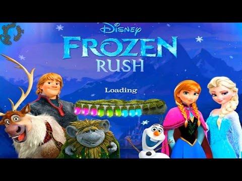 Frozen Rush Игра Холодное Сердце Забег Весёлый Геймер