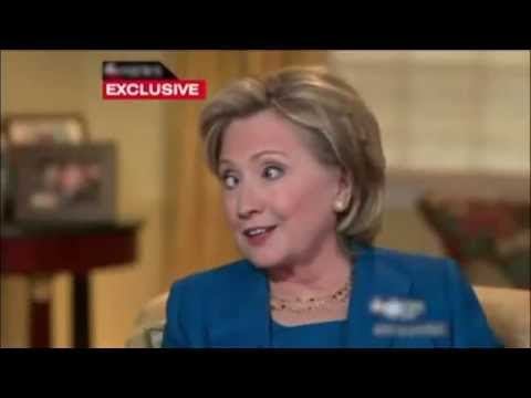 Funny Videos Hillary Clinton Talks About Her Brain Damage  Video