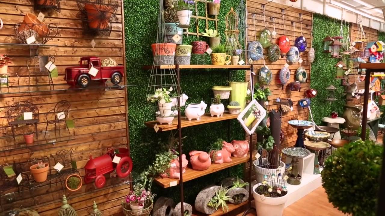 outdoor garden decorevergreen enterprises - youtube