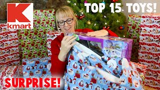 Surprise Unwrapping! Kmart's Fab Top 15 Toys For 2015 For Holiday Season