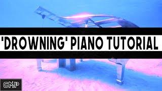 ? Drowning Type Beat Piano Tutorial | Presonus Studio One 3.5 Craftmaster Productions