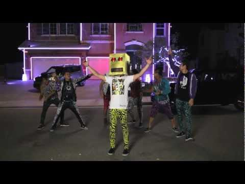 The Kia Soul Shuffle Slam with LMFAO at Halloween House