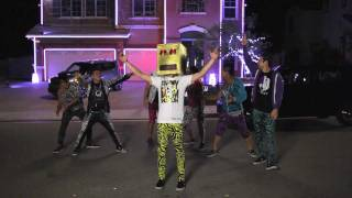 Repeat youtube video The Kia Soul Shuffle Slam with LMFAO at Halloween House