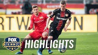Watch full highlights between 1. fc union berlin vs. bayer leverkusen.#foxsoccer #bundesliga #bayer #unionberlinsubscribe to get the latest fox soccer conten...