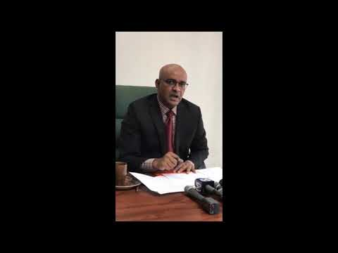 Bharrat Jagdeo files no confidence motion against Guyana gov't