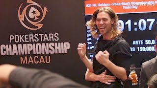 Elliot Smith Captures PokerStars Championship Macau