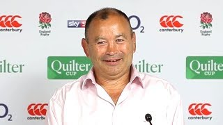 England v Barbarians - Eddie Jones Post Match Press Conference
