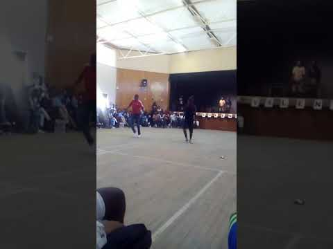 Namibian kwaito dancers at Centaurus high school Windhoek