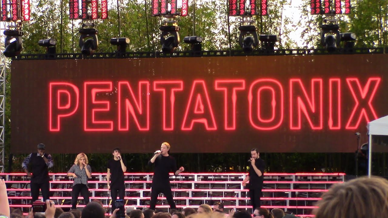 Busch Gardens Tampa Food Wine Festival With Pentatonix Live In Concert 3 22 15 Youtube