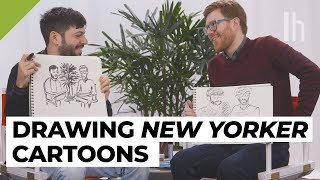 How to Draw Like A New Yorker Cartoonist