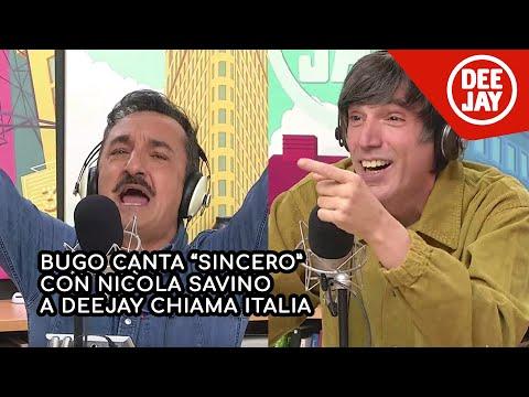 Nicola Savino al posto di Morgan: il duetto con Bugo a Deejay Chiama Italia