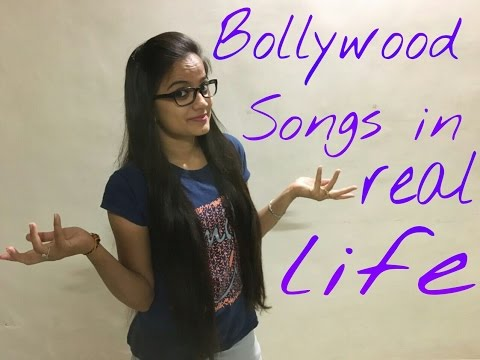 BOLLYWOOD SONGS IN REAL LIFE...!!!