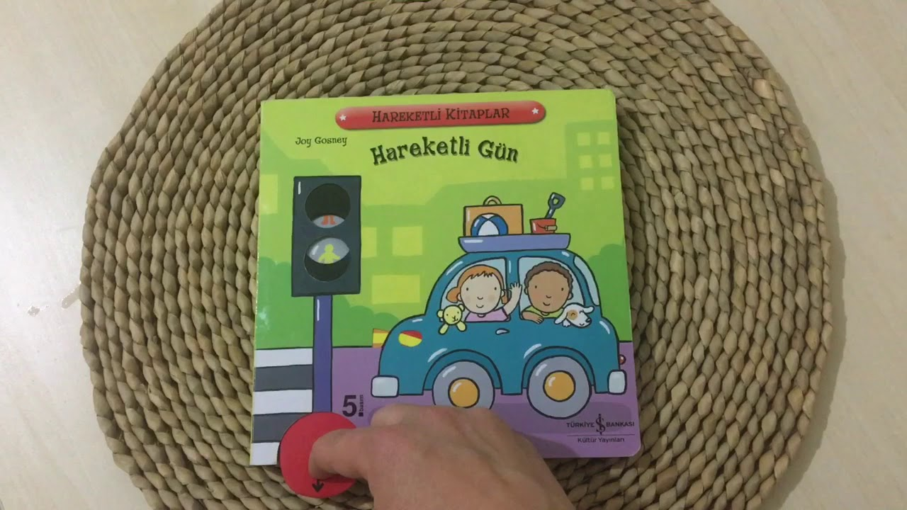 Hareketli Gün 2-5 Yaş Çocuk Kitabı   Hareketli Kitaplar