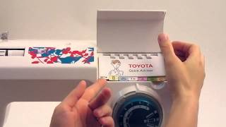 видео Toyota Швейная машина TSEW1 белый